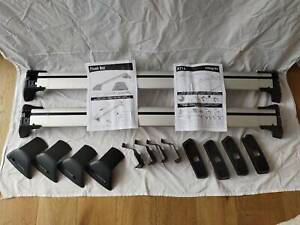 SKODA Octavia flush Whispbar roof racks