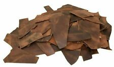 2.0mm Brown 4LB Scraps Tooling Crafts 100/% Cowhide Full Grain Leather 5//6oz