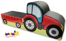 Implay® Soft Play PVC Foam Children's Sit-on Tractor Fun Activity Toy