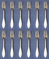 SET OF TWELVE - Oneida Stainless MORRISON Dinner Forks NEW