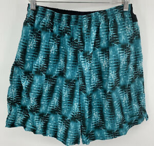 Speedo Vintage Men's Large Mesh Lined Swim Trunks Swim Suit Shorts Pockets