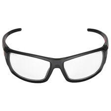 Milwaukee Performance Safety Glasses Eye Protection Clear Lenses Fog Black