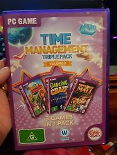 Time Management Triple Pack Vol. 2 - Mall Dancing Fashion- PC GAME - FREE POST *