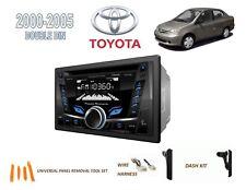 2000-2005 TOYOTA ECHO CAR STEREO KIT, BLUETOOTH USB CD AUX MP3