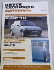 PEUGEOT 106 portes Revue technique CARROSSERIE RTA 137 1992 OPEL OMEGA AUDI 80