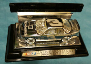 1990 Dale Earnhardt Winners Circle 25th Silver Anniversary Series #3 car, Used