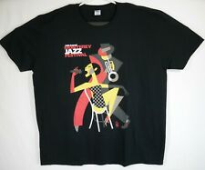 54th Annual 2011 Monterey Jazz Festival Collectible T-Shirt Men's Size 2Xl