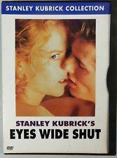 Eyes Wide Shut (Dvd, 2001, Stanley Kubrick Collection) Tom Cruise, Nicole Kidman