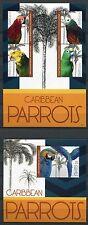 St. Kitts 2012 Papageien Parrots Vögel Birds Uccelli Oiseaux Postfrisch MNH