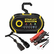 NEW STANLEY MULTI VOLTAGE 6-48 VOLT BATTERY CHARGER 6V 12V GOLF CART TRACTOR CAR