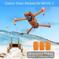 For DJI Mavic 2PRO/ZOOM Anti Scratch Remote Control Body Arm Skin Decal Film Kit