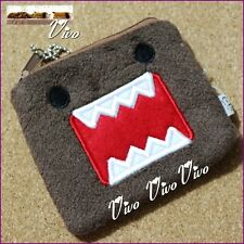 Domo Kun Cute Lovely Card Coin Money Zipper Bag Purse Pouch Plush Wallet
