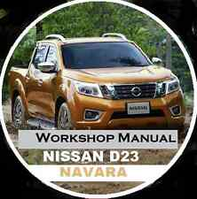 NISSAN NAVARA NP300 SERIES 2014-2015 AUSTRALIAN Workshop Repair Manual CD