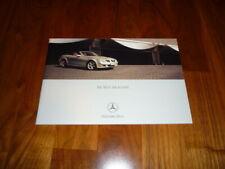 Mercedes SLK Prospekt 01/2004