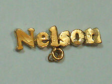 Nelson Name Metal Badge  Super Pin! (#50)