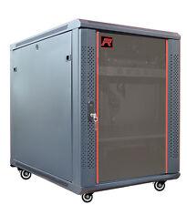 "12U 35"" Deep Server IT Network Enclosure Rack Lockable Cabinet Accessories FREE!"