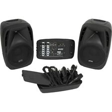 GEMINI ES 210 MX BLU 2 diffusori 600 w 1 mixer 6 canali + lettore usb + sd card