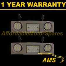 2x Para Vw Golf Mk5 6 Golf Plus 48 Led Blanco frente interior cortesía Lámparas