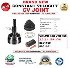 VOLVO V70 2.3 PETROL DRIVESHAFT HUB NUT//BOLT /& BOOTKIT 1999/>2007