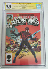 Secret Wars #1 HeroesCon CGC 9.8 Signature Series (Miles Morales Variant)