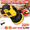 7Pcs 700W Electric Polishing Machine Car Polisher Tool Kit Buffer Waxer Plate ~