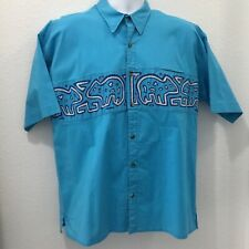 My Name is Panama Mens Shirt Blue Size XL