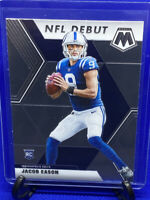 JACOB EASON 2020 PANINI MOSAIC NFL DEBUT ROOKIE RC COLTS