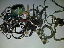 Junk drawer jewelry, watches, bangles, necklaces