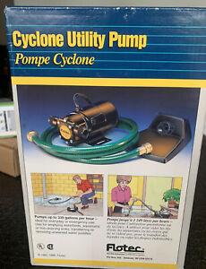 FLOTEC Cyclone In-Line UTILITY PUMP Model FPOF360AC 1/12 HP 350 GPH
