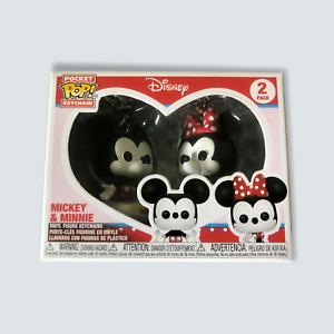 Funko Pocket Pop! Disney's Mickey & Minnie Vinyl Figure Keychain 2-Pack/Love 🐙