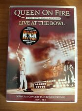 QUEEN ON FIRE LIVE AT THE BOWL COMPLETE CONCERT 2DVD SET PARLOPHONE ( NO CD )