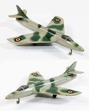 SOLIDO avion HAWKER HUNTER   / jouet ancien