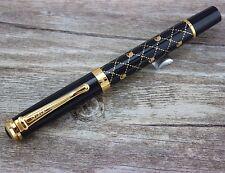 Original Jinhao lujo rollerball rollerball pen bolígrafo 18 KGP + estuche nuevo
