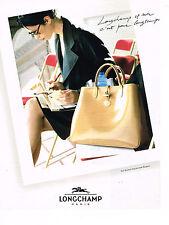 PUBLICITE ADVERTISING 084  1997  LONGCHAMP   collection sacs bagages