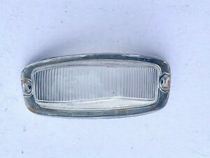 Volvo Amazon 120 121 122 130 Indicator Lens Front Left w/Seal (Clear) PN: 654770