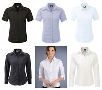 LADIES OXFORD BLOUSE CO-OPERATIVE CLOTHING FEMALE SMART OFFICE CORPORATE SHIRT