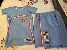 Griffin 2013-14 Los Angeles Clippers Authentic Pro Cut Game Jersey & Shorts