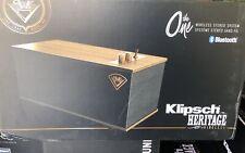 Klipsch The One Tabletop Speaker -Walnut - BRAND NEW FACTORY SEALED!  Bluetooth