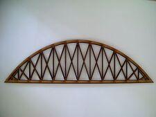 Model Railway Layout N Gauge Laser Cut Bridge 2 Sides 3mm MDF 30cms Long