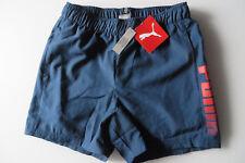 PUMA Shorts 152,Tasche, US L UK 28,A 11 12, Hose Bermudas Sporthose blau m SLIP