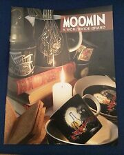 Moomin products promotional booklet, 2016