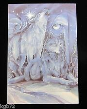 Leanin Tree Christmas Greeting Card Wolves Wolf Nature Multi Color C64