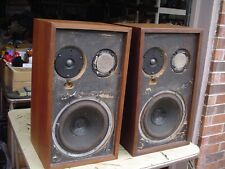 AR-2ax Vintage Classic 1969 Oiled Walnut Stereo Speakers Refurbished - See Desc!