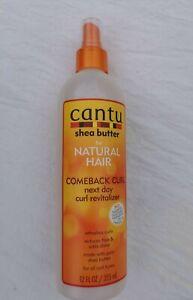 Cantu Shea Butter Comeback Curl Next Day Curl Revitalizer 12oz - Australia Stock