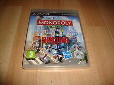 MONOPOLY EDICION STREETS PARA LA SONY  PLAY STATION 3 PS3 NUEVO PRECINTADO