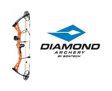 Bowtech Diamond Archery Prism Left Hand Compound Bow 5-55# RTH - ORANGE