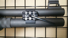 Shotgun magazine tube extension clamp & rail for Mossberg 930SPX