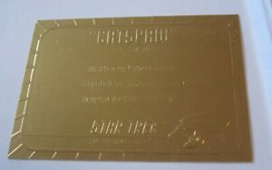 Star Trek TOS season 2 Gold Plaque card G30 Catspaw