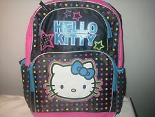SANRIO HELLO KITTY POLKA DOT 16 INCH BACKPACK NEW WITH TAG