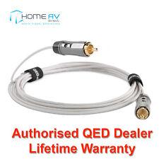 QED rendimiento Miniatura Mini Fino Delgado Subwoofer Sub Cable Lead 6m-QE6401